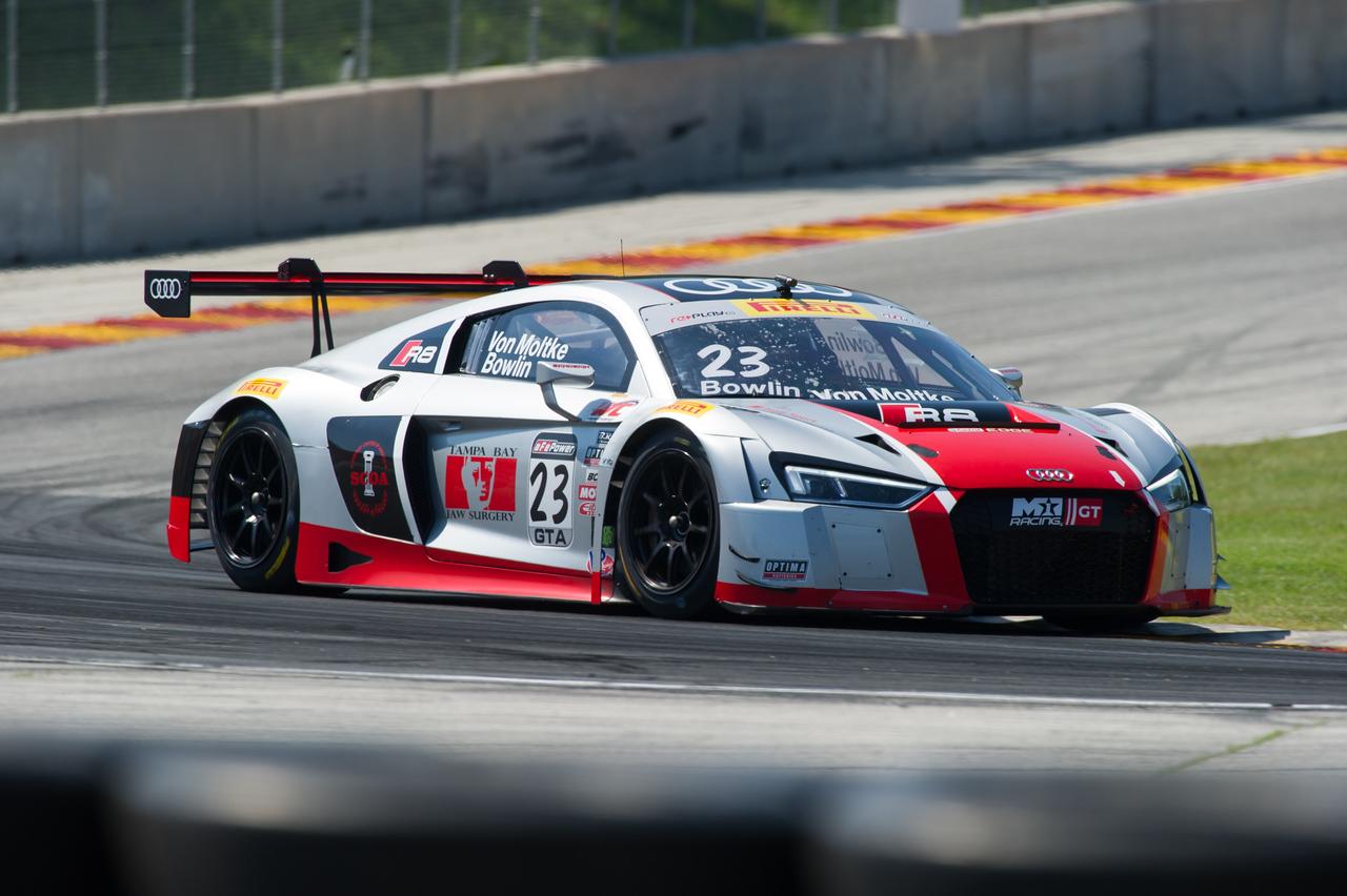 Walt Bowlin / Dion Von Moltke M1 GT Racing Audi R8 GT3