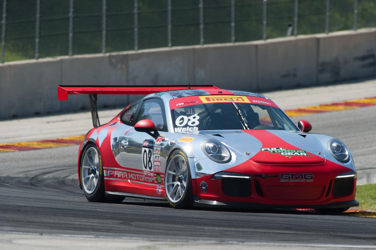 Alex Welch  GMG Porsche 911 GT3 Cup