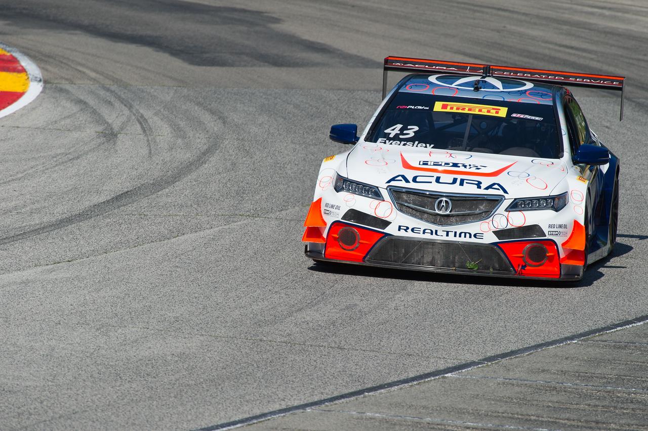 Ryan Eversley RealTime Racing Acura TLX-GT