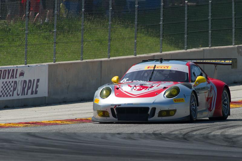 Andy Wilzoch Flying Lizard Motorsports Porsche GT3R