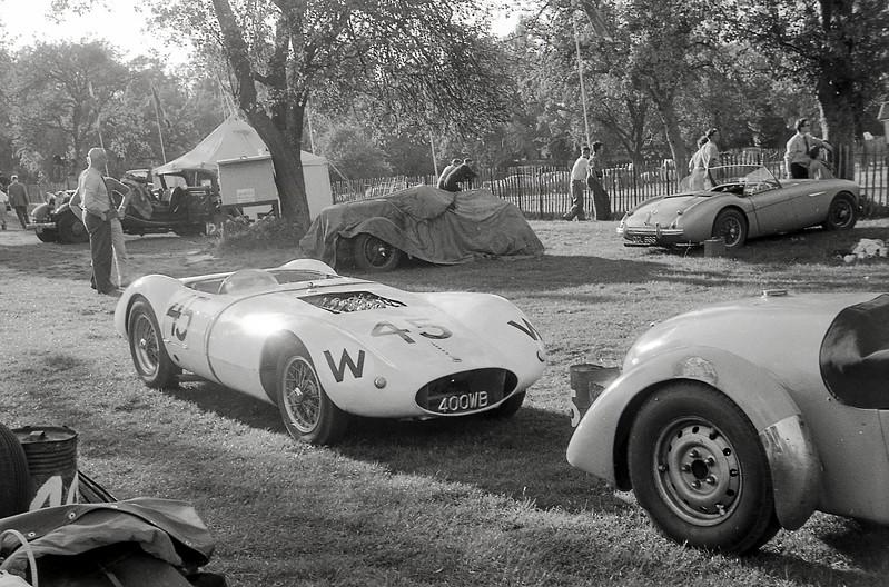 JP Chapman's Chapman Mercury in the paddock, September 1961