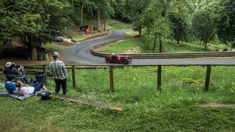 complementary view in May 2017, with Ian Goddard in an MG PA