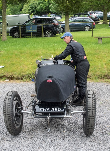 ....More than 50 years later, Edmund Burgess tends to his Bugatti 51