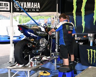 Yamaha Racing paddock 01