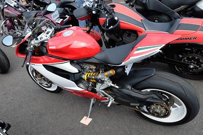 Ducati sport bike