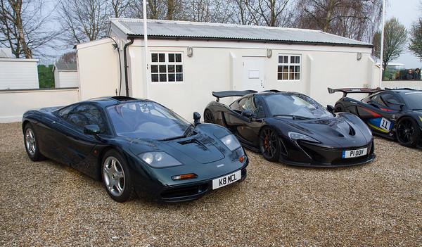 1993 McLaren F1 & 2012 McLaren P1