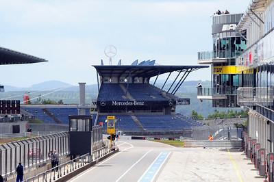 Nurburgring pits