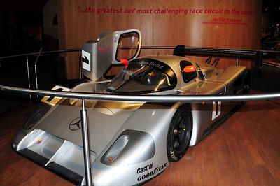 Nurburgring museum Sauber Mercedes