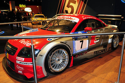 Nurburgring museum Audi TT