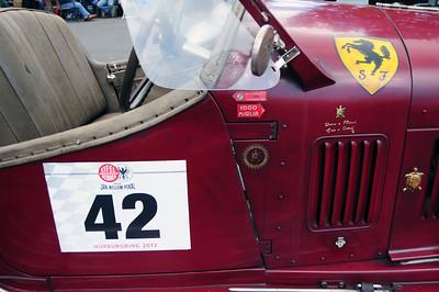 Eifelrennen Alfa 6C Scuderia Ferrari