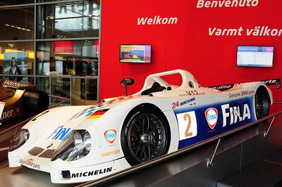 Nurburgring museum BMW Le Mans car