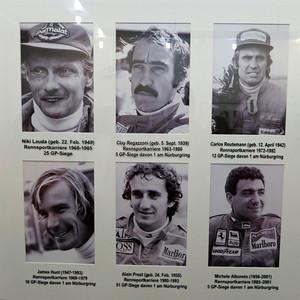 Nurburgring Lauda and Hunt