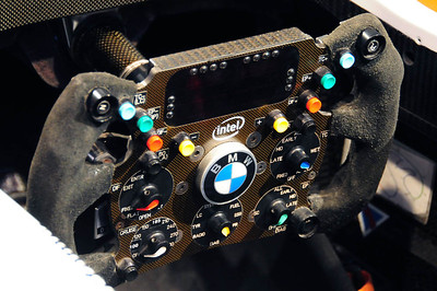 Nurburgring museum BMW F1 steering wheel