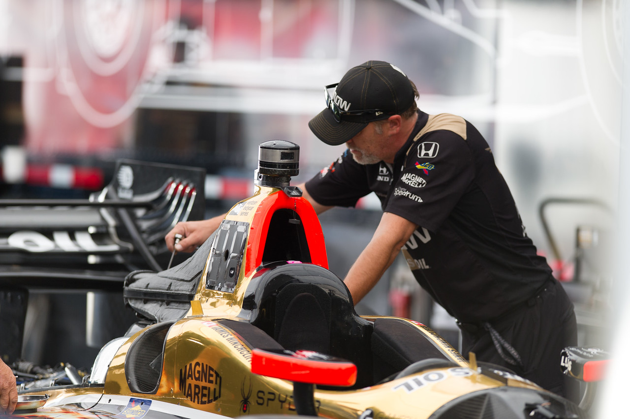 James Hinchcliffe Arrow Schmidt Peterson Motorsports Honda