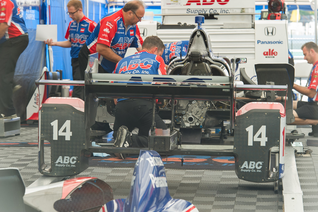 Takuma Sato ABC Supply AJ Foyt Racing Honda