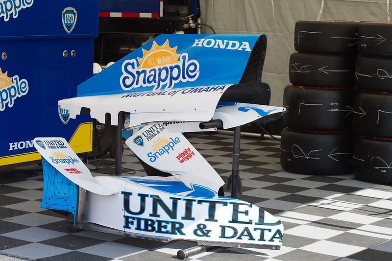 Marco Andretti United Fiber & Data/Snapple Andretti Autosport Honda