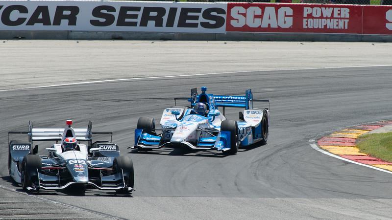 Alexander Rossi &  Marco Andretti