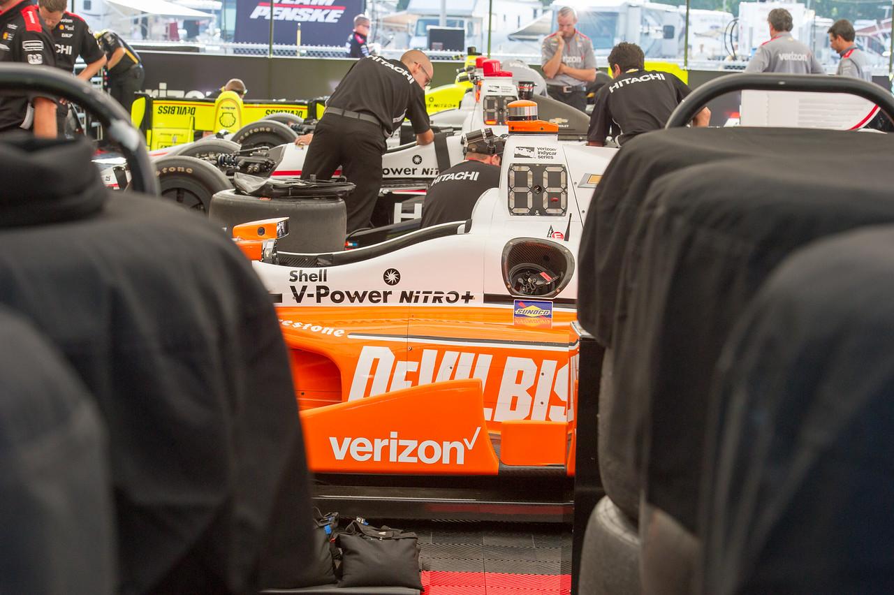 Juan Pablo Montoya DeVilbiss Team Penske Chevrolet