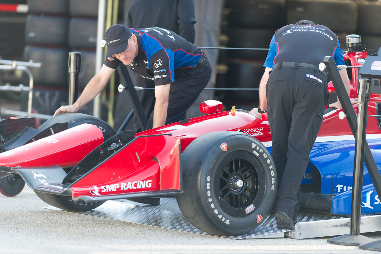 Mikhail Aleshin SMP Racing Schmidt Peterson Honda