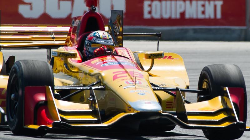 Ryan Hunter-Reay DHL Andretti Autosport Honda