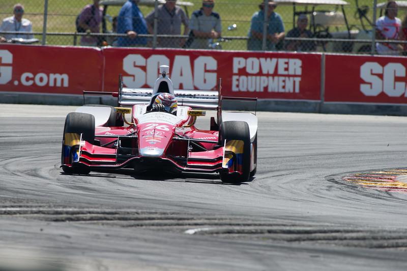Carlos Munoz Andretti Autosport Honda