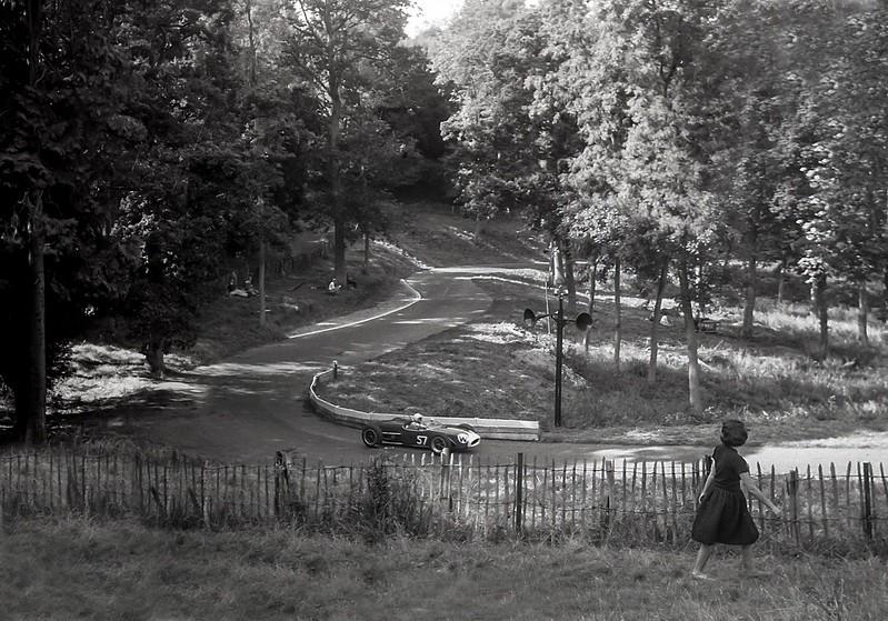 Tony Marsh, Lotus 18, Prescott, 1961