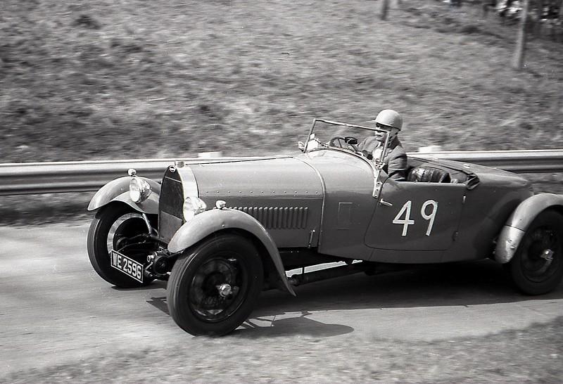 Cecil Clutton, a stalwart of the Bugatti Owners' Club Bugatti 43 May 1963