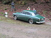 John and Pauline Adams attempt Hitchcombe in their Volvo