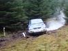 Mark Gregg burning rubber on Ullister Hill