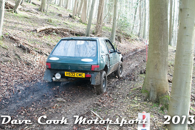 D30_2851 - No. 3, Nick  CLEAL / TBA : Peugeot  205 GTi - 1st Class 1 - Section 2 Beechwood