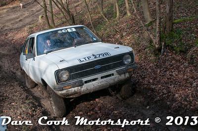 D30_2877 - No. 9, Isabel  LINFORTH / Mark  HOBBS: Ford  Escort - Section 2 Beechwood