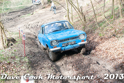 D30_2884 - No. 11, Charles  HAYWARD / Charlie  SMITH: Ford  Escort - Section 2 Beechwood