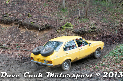 D30_2716 - No. 8, Mark  LINFORTH / Joe  BROWN: Ford  Escort - Section 2 Beechwood