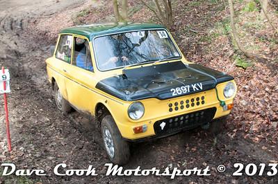 D30_2838 - No. 14, Ian  MOSS / Glenice  COVENTRY: Hillman  imp - Best Stroud - Section 2 Beechwood