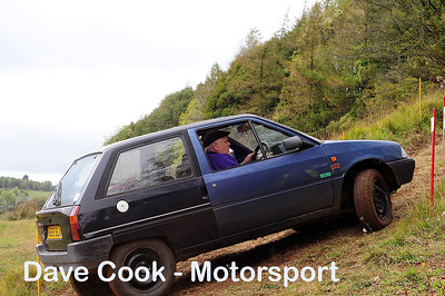 Class 1 No. 1 Colin Francis and Roy Coventry - Citroen AX