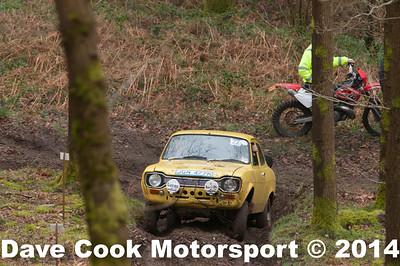 D30_3485 -  No. 22, Ken  and Darren  Bassett:  Class 3 Ford  Escort