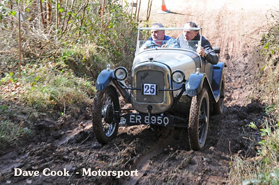 David Price's Austin 7 got to the 9