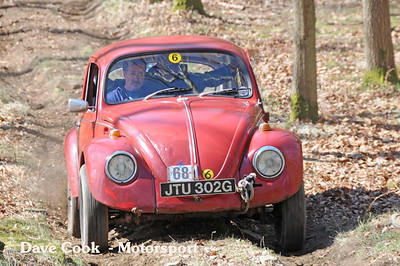 Garry Browning's Class 6 Beeetle went on to win the event