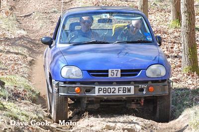 Peter Jones wonn class 5 in his Suzuki X-90
