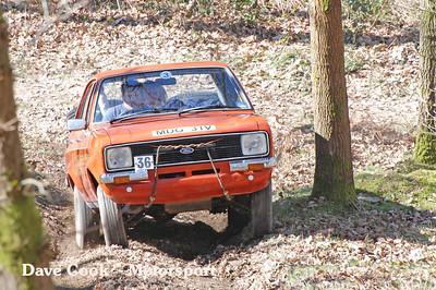 Tony Underhill's Ford Escort