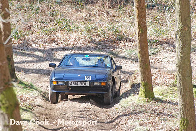 Terry Hales Porche 924 didn'yt get too far up the hill
