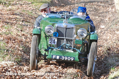 Bill Bennet's MG J2 looked immaculate