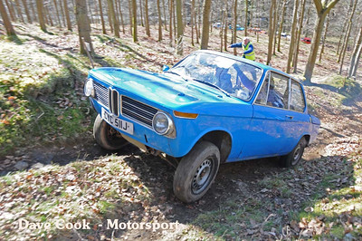 Colin Perryman almost got to the top in his BMW 2002