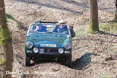 Colin Biles MG Midget didn't get too far