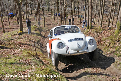 Tony Young's Class 4 beetle was the first of Many Beetles in the event.