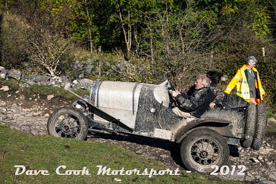 No. 156 David Golightly and Carla Smith, Class 2, 3300cc Ford Model