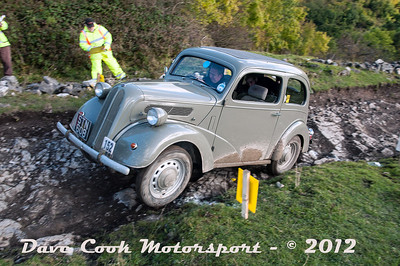 No. 152 Nigel Hilling and James Stathers, Class 2, 1172cc Ford Anglia