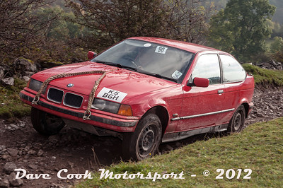 No. 090 Brian and Alex Hampson, Class 3, 1800cc BMW Compact