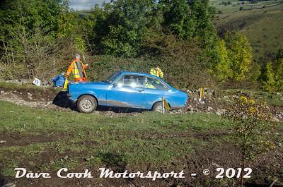 No. 154 Edward Broom and Kevin Mccarron, Class 3, 1600cc Ford Escort