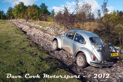 No. 104 Hans and Karl Viertel, Class 4, 1285cc VW Beetle